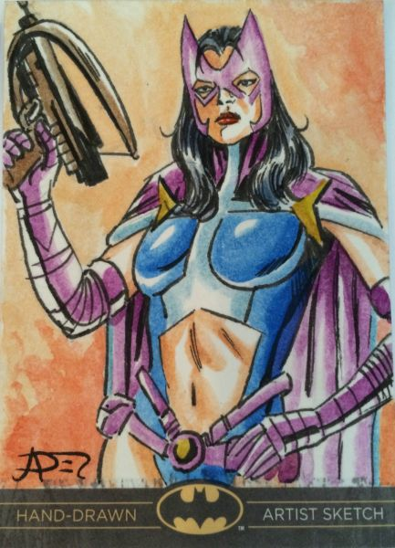 Huntress Sketch Card