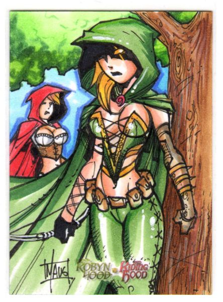 Sketch Card by Bill Maus