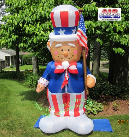 Uncle Sam Inflatable