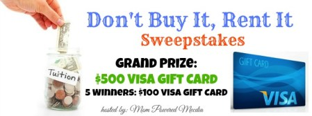 Blogger Opportunity – Help giveaway a $500 Visa Card