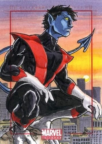 Night Crawler Sketch Card