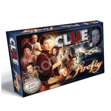 Clue the board game firefly version