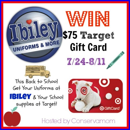 $75 Target Gift Card Giveaway