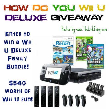 Wii U Bundle Giveaway