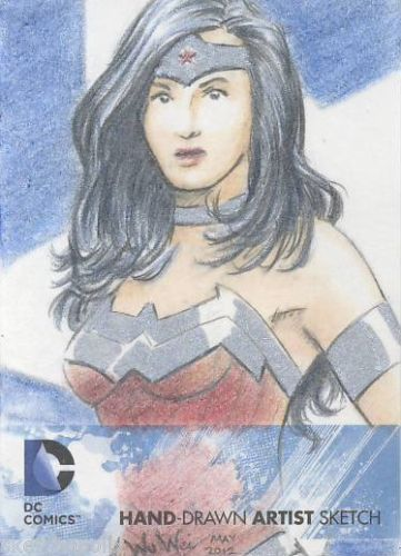 Wonder Woman Sketch Card
