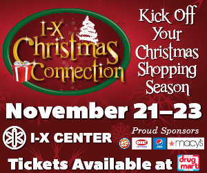 I-X Christmas Connection November 21-23 at the I-X Center in Cleveland, Ohio