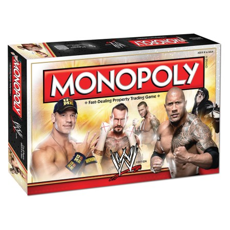 WWE Monopoly from USAopoly Games Giveaway and Review – Ends 1/3