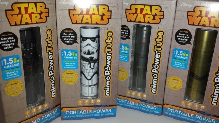 MimoPower Star Wars Themed Power Tubes for Android and iPhone Review