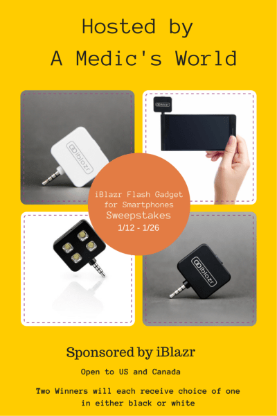 iBlazr Flash Gadget for Smartphones Giveaway