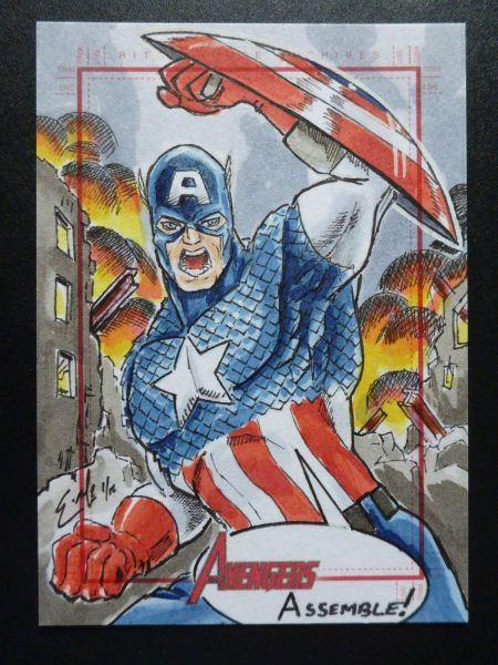 Captain America by Eric McConnell