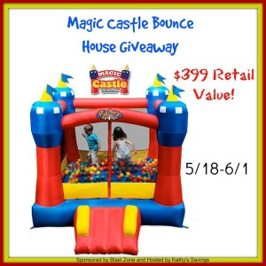 Magic Castle Bounce House Giveaway – Ends 6/1