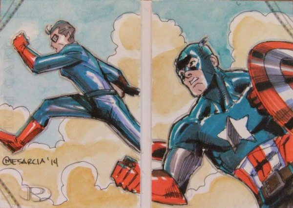 Sketch Card Artist of the Day 6/29/15 – Artist Cyrus Mesarcia @marvel