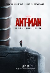 Ant-man Movie Posters Check out the new movie posters and TV Spot featuring Ant-Man the new #Marvel movie coming out July 17th