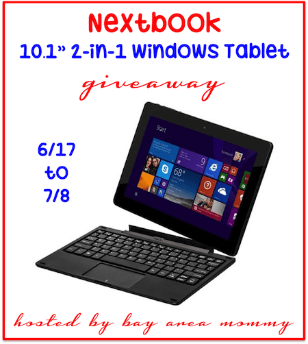 Nextbook Giveaway - Ends 7/8 Enter to win this fantastic gadget, tablet in this giveaway. Good Luck. ~Tom