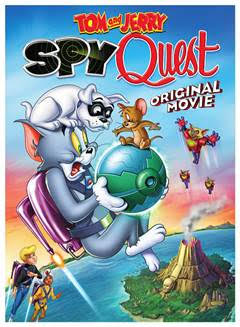 Tom and Jerry Spy Quest DVD Giveaway Ends 6/26