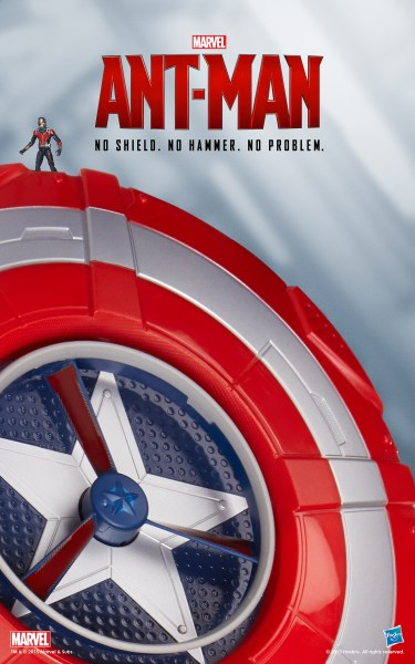 Hasbro used their Marvel Cinematic Universe Gear to Recreate the Iconic Posters for Marvel's Ant-Man