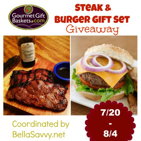 GourmetGiftBaskets.com Steak & Burger GIVEAWAY