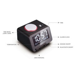 Homtime C1pro Homtime Digital Alarm Clock Multi Charger with Dual-USB Charging Chargers