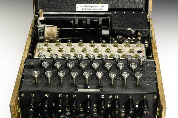 Rare German Enigma Code Machine Sells at Auction for $232,000