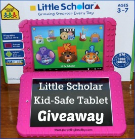 Enter to win a Little Scholar Tablet for the little one Ends 2/29 Good Luck from Tom's Take On Things
