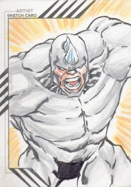 Rhino Sketch Card