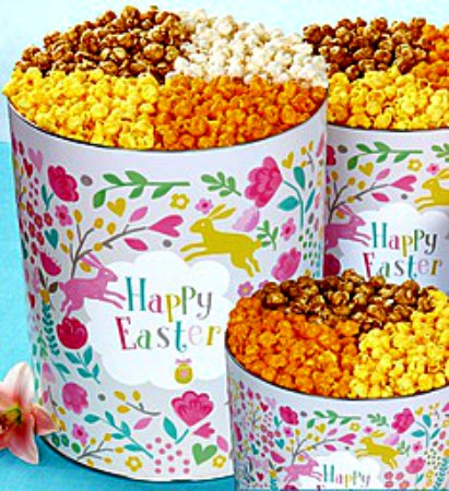 Popcorn Factory Happy Easter Giveaway Ends 3/21 Good Luck from Tom's Take On Things