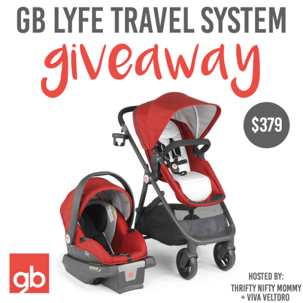 GB Lyfe Travel System Giveaway Ends 3/25 Good Luck from Tom's Take On Things
