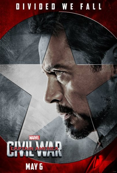 Captain America: Civil War #TeamIronMan Posters