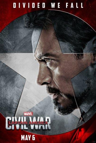Captain America: Civil War #TeamIronMan Posters