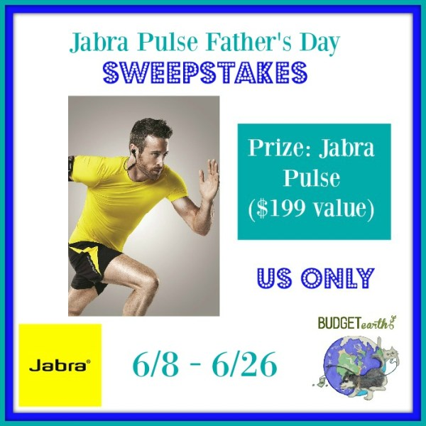 Jabra Pulse Father's Day Sweepstakes Good Luck from Tom's Take On Things