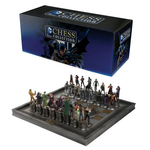 DC Comics Complete Batman Chess SetDC Comics Complete Batman Chess Set