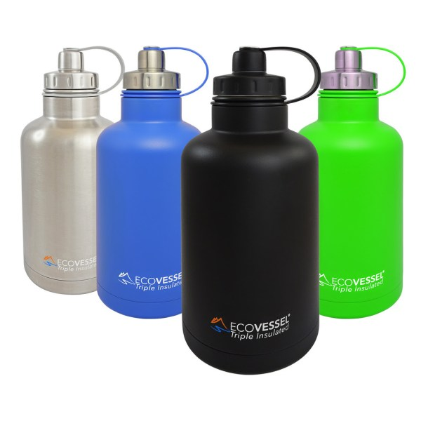 Hot or Cold? Reusable stainless steel growler, what will you use it for?