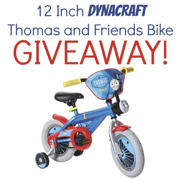 Win a Dynacraft Thomas the Tank Engine Boys' 12″ Bike