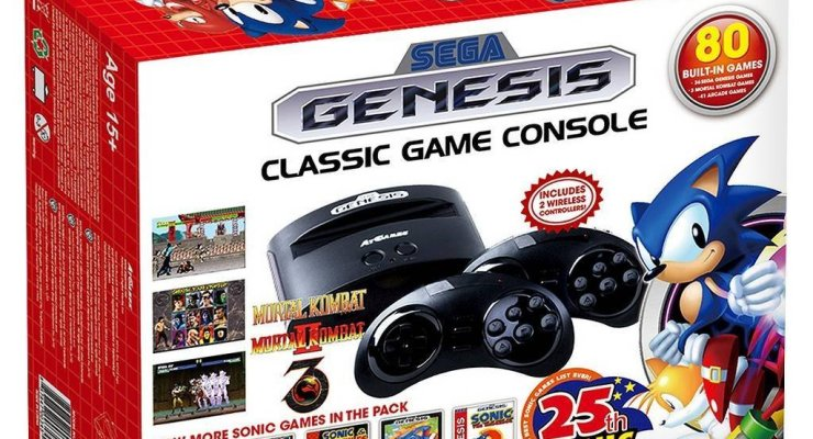 2016 Holiday Gift Guide Idea – SEGA Genesis classic game console