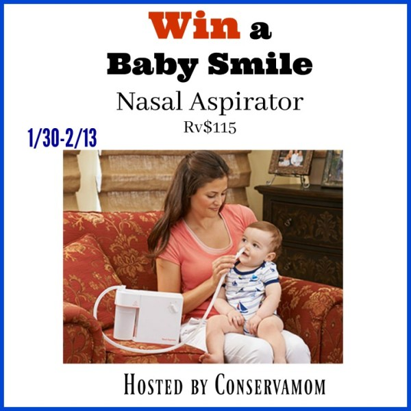 Enter to win this BabySmile Nasal Aspirator for your Baby