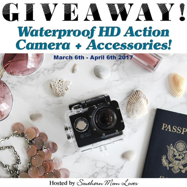 Hamswan Waterproof HD Action Camera Giveaway ~ Geeky Fun Ends 4/6