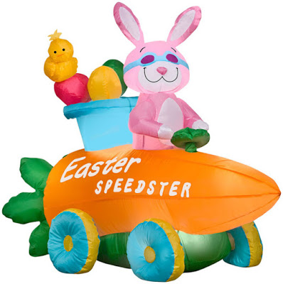 Standard Concession Supply Easter Bunny Inflatable Giveaway