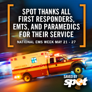Happy EMS Week from Tom's Take On Things and SPOT
