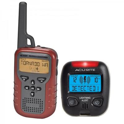 AcuRite Indoor/Outdoor Weather Radio and Lightning Detector Giveaway Ends 9/10
