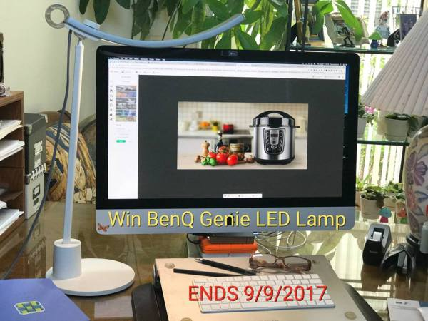 BenQ Genie LED Lamp Giveaway