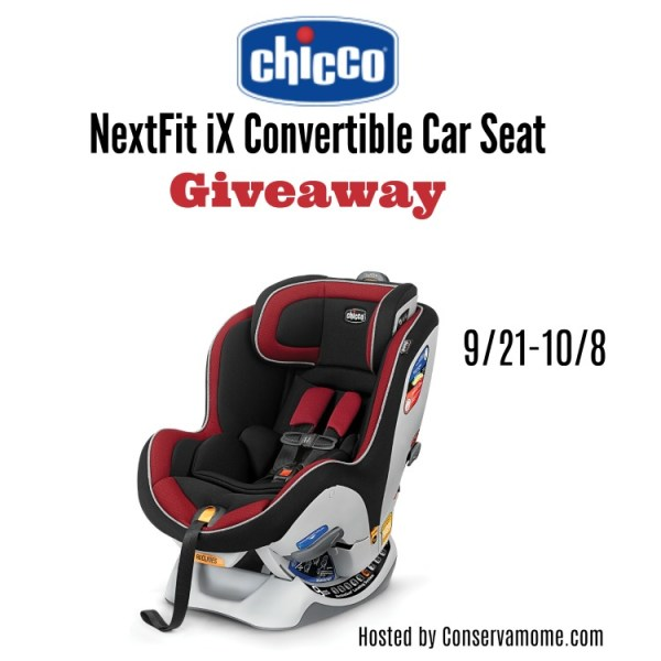 Chicco NextFit IX Car Seat Giveaway