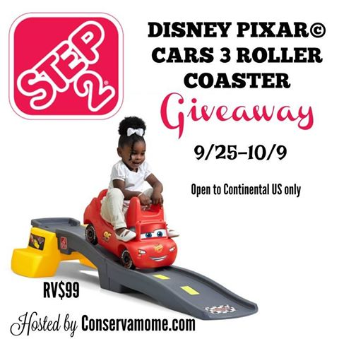 Step2 Cars 3 Roller Coaster Giveaway