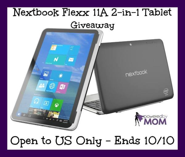 Nextbook Flexx 11A touch laptop Giveaway Ends 10/10