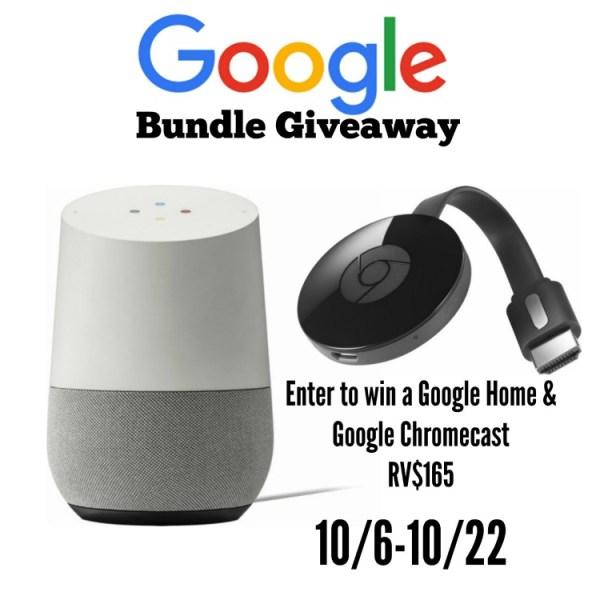 Google Home Bundle Giveaway ~ Ends 10/22