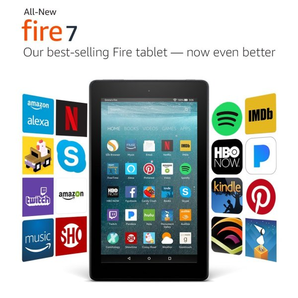 Amazon Fire 7 Tablet Giveaway Ends 11/21