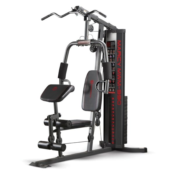 Marcy 150-lb. Multifunctional Home Gym Station Try to keep your resolutions going!