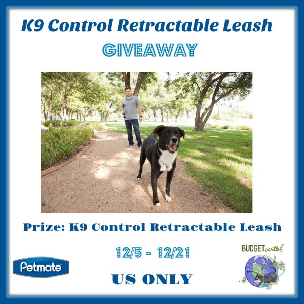 K9 Control Retractable Leash Giveaway Ends 12/21