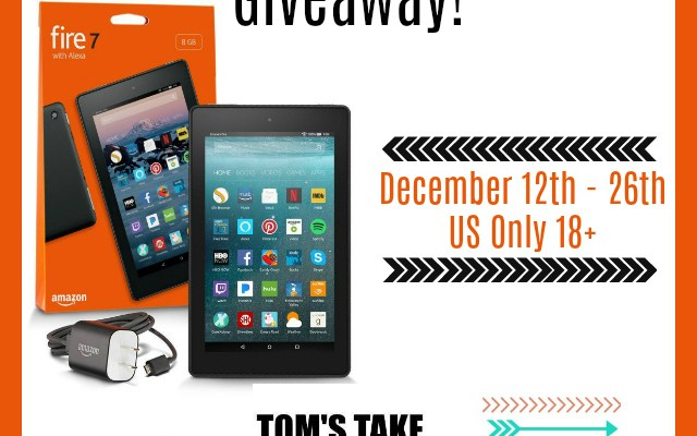 Stay Warm with the Kindle Fire 7 Giveaway