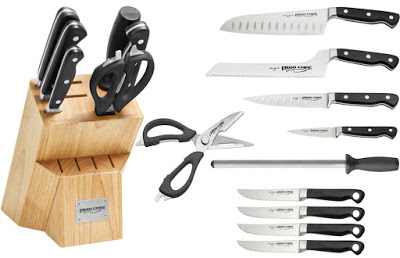 Ergo Chef 11 piece Knife Block Set with Knives Giveaway Ends 2/28