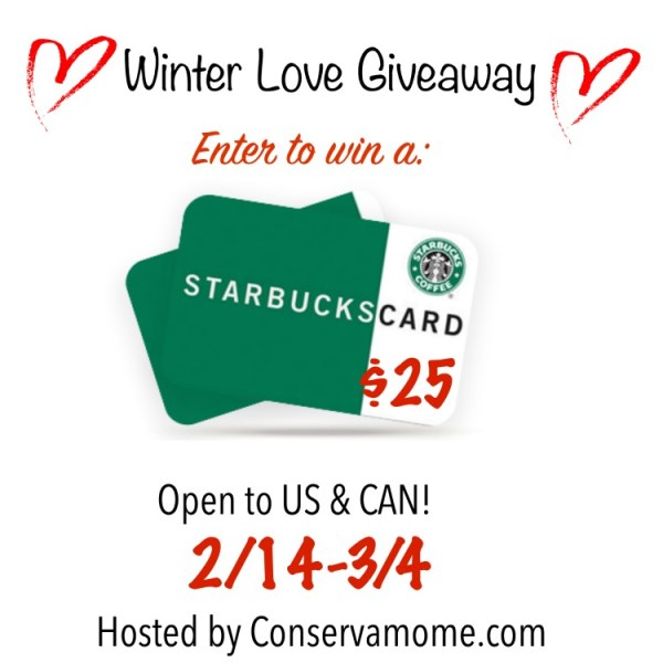 Win a $25 Starbucks Gift Card ~ Ends 3/4